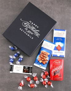 gifts: Personalised Birthday Box Of Lindt Chocs!