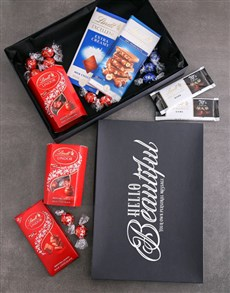 gifts: Personalised Hello Beautiful Lindt Box!