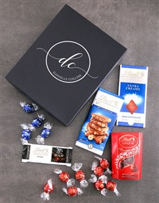 gifts: Personalised Monogram Initial Lindt Box!