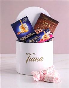 gifts: Personalised Name Nougat Box!