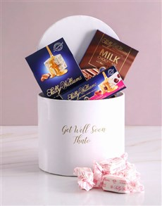gifts: Personalised Get Well Nougat Box!