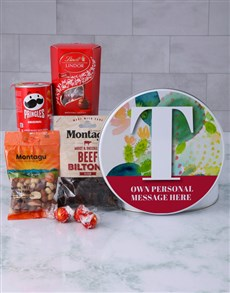 gifts: Personalised Initial Gourmet Tin!