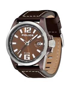 watches: Police Gents 44mm Round Steel Lancer Watch!