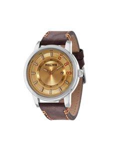 watches: Police Gents Sunset Dark Brown Watch!