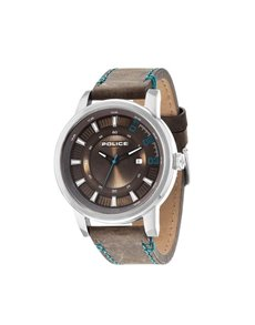 jewellery: Police Gents Sunset 59mm Round Dial Watch!