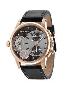 gifts: Police Gents Diamondback Multifunctional Watch!
