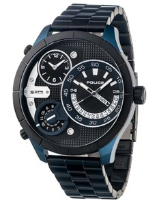 watches: Police Bushmaster Black Dial Watch!