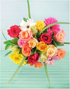 flowers: Romantic Rainbow Gift!