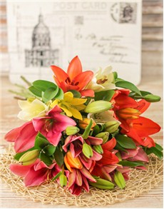 gifts: Lavish Lily Bouquet!