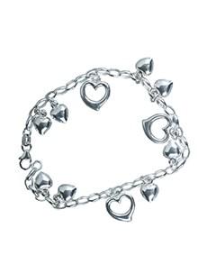 jewellery: Sterling Silver Bracelet with Heart!
