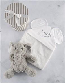 gifts: New Baby Elephant Plushie Box!