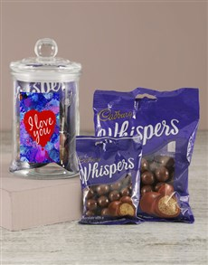 gifts: I Love You Whispers Candy Jar!