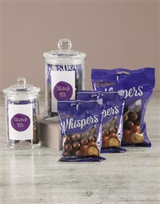 gifts: Thank You Whispers Candy Jar!