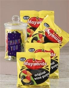 gifts: Thank You Maynards Candy Jar!