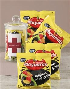 gifts: Get Well Soon Maynards Candy Jar!