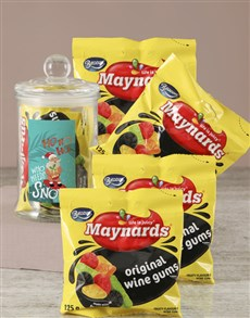 gifts: Who Needs Snow Maynards Candy Jar!