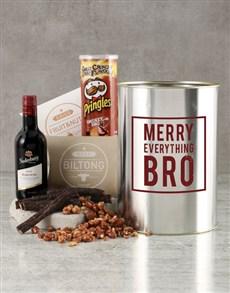 gifts: Merry Everything Bro Bucket!