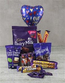 gifts: Cadbury Love Hamper!