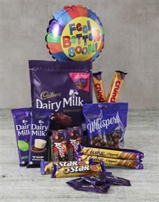 gifts: Cadbury Feel Better Hamper!