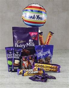 gifts: Cadbury Thank You Hamper!