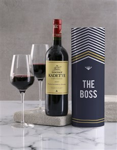 gifts: The Boss Wine Tube!
