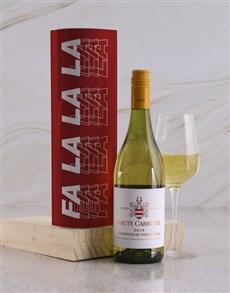 gifts: Fa La La La Wine Tube!