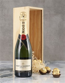 gifts: Marvellous Moet Brut Crate!