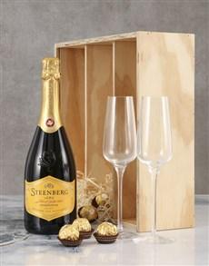 gifts: Steenberg Chardonnay MCC Crate!
