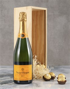 gifts: Vivacious Veuve Crate!