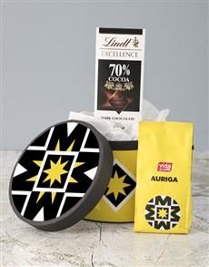 gifts: Vida Auriga Coffee Hat Box!
