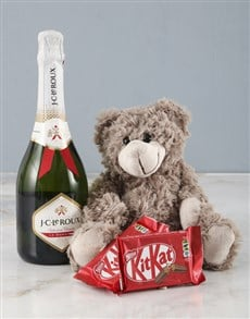 gifts: Brown Teddy And Jc Le Roux!