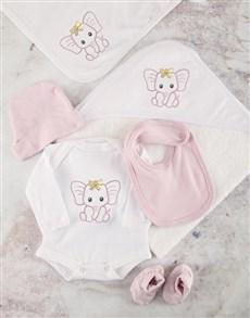 gifts: Pink Ellie Baby Essentials Hamper!