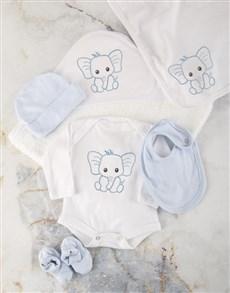 gifts: Blue Ellie Baby Essentials Hamper!