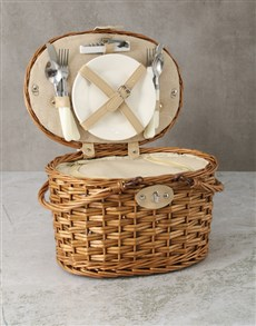 gifts: Refined Picnic Basket!