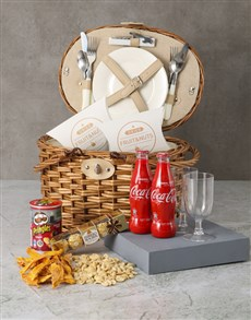 gifts: Fun In The Sun Picnic Basket Hamper!