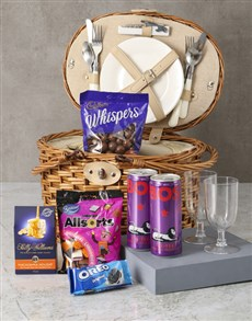 gifts: Keep It Classy Picnic Basket Hamper!
