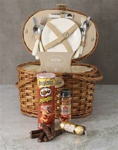 gifts: Braai Time Picnic Basket Hamper!
