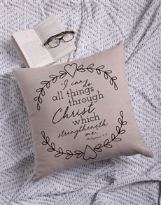 gifts: Do All Things Scatter Cushion!