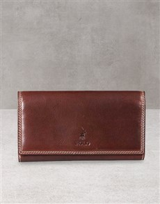 gifts: Polo Kenya Brown Pocket Wallet Gift!