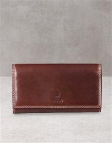 gifts: Polo Kenya Brown Pocket Wallet Gift!