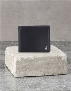 brand: Polo Nappa Billfold Wallet Gift Set!