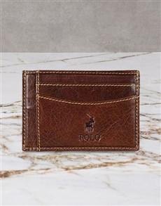 gifts: Polo Hamilton Credit Card Holder Gift Set!