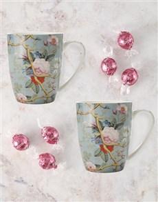 gifts: Maxwell And Williams Summer Blossom Mug Set!