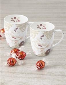 gifts: Maxwell And Williams Serene Blooms Mug Set!