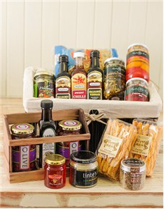 Gifts and Hampers - All Gifts: Basket of Gourmet Snacks!
