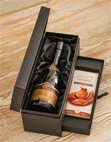 Picture of KWV Brandy and Lindt Hamper!