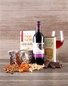 best-sellers: Bon Appetit Wine and Snacks Hamper!