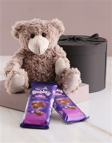 Teddy and Cadbury Chocolates in Gift Box