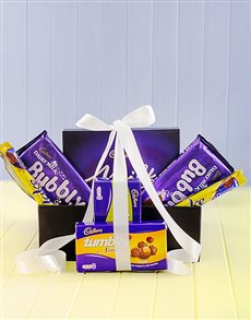 Gifts and Hampers - All Gifts: Cadbury Chocolate Galore Hamper!