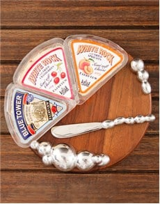 Gifts and Hampers - All Gifts: Cheese and Bubble Board Hamper!